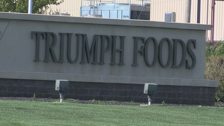 Triumph Foods sign picture