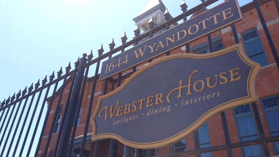 Picture of Webster House sign