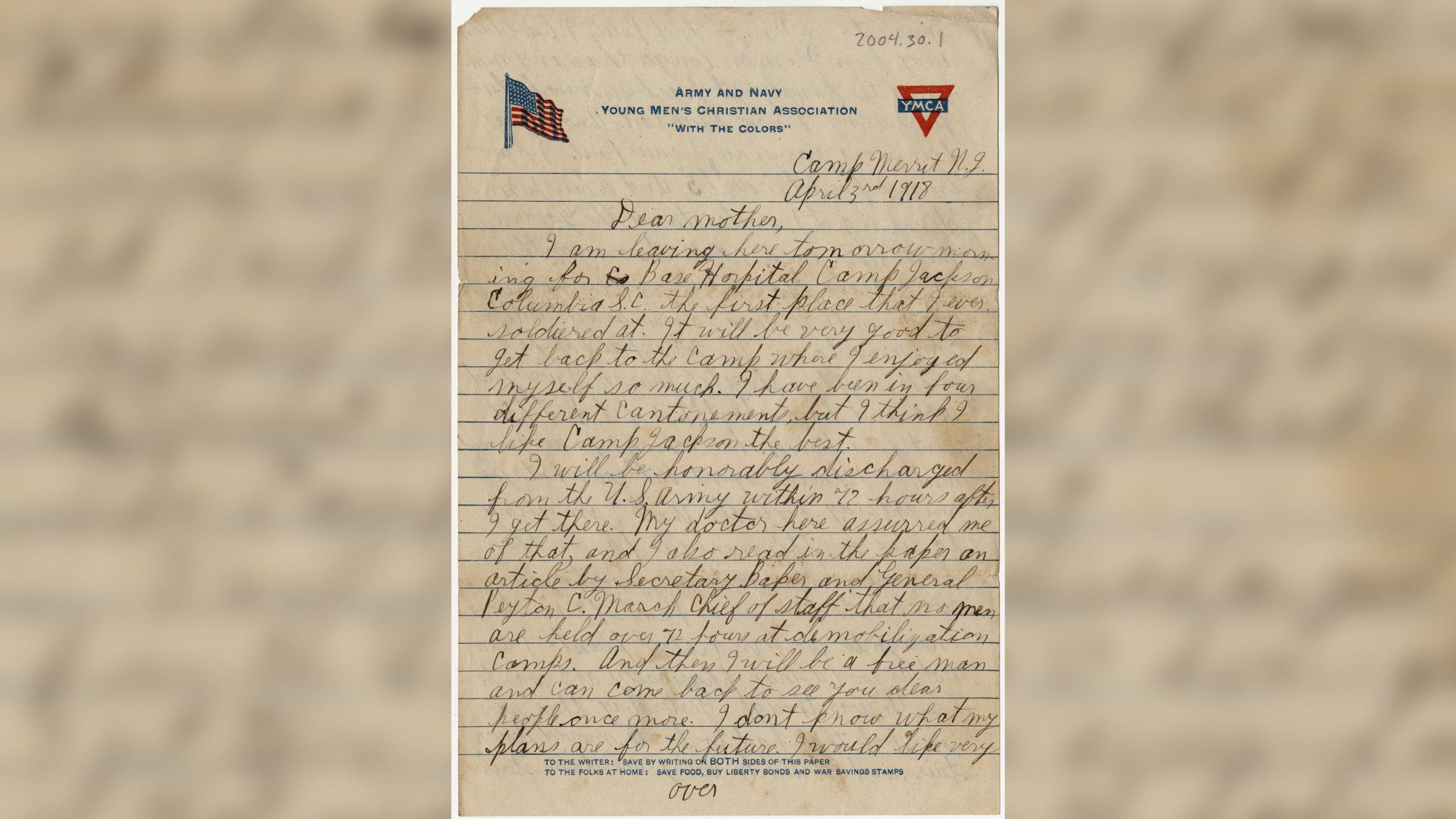 WWI Digitized Documents