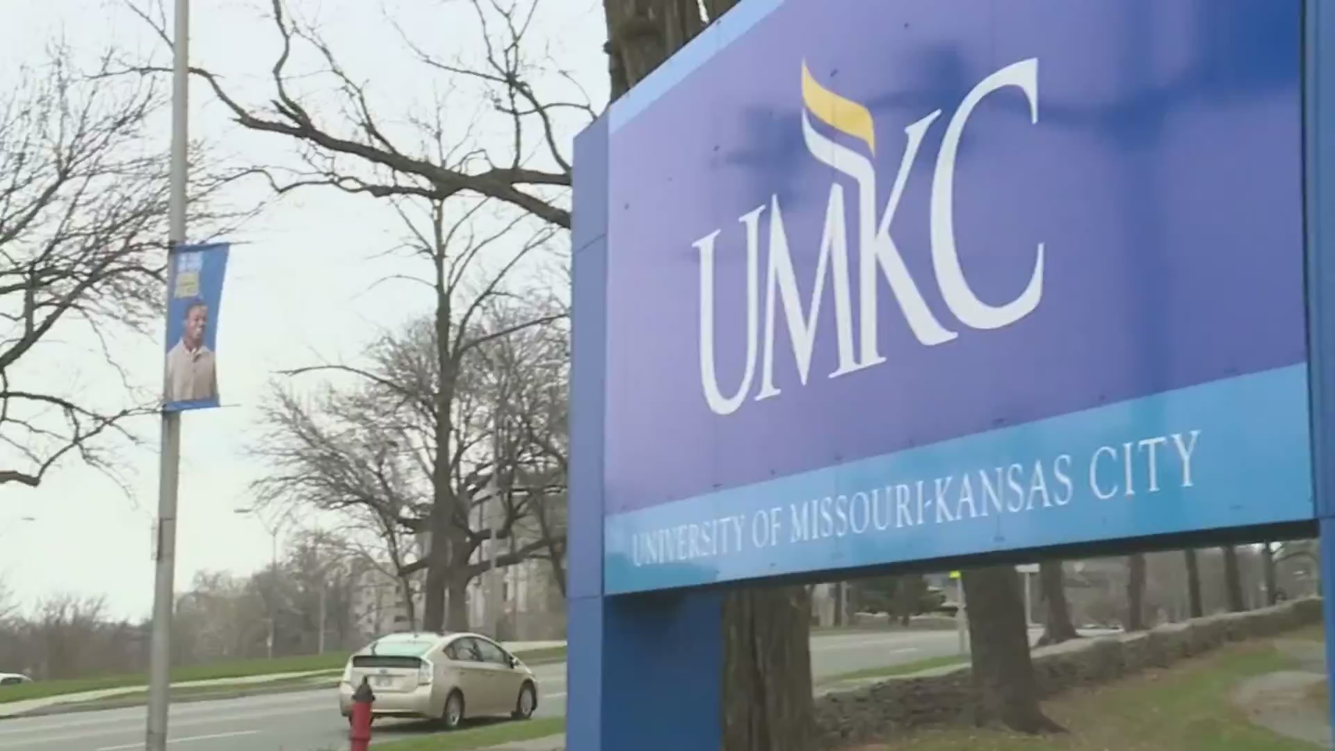 Picture of UMKC sign
