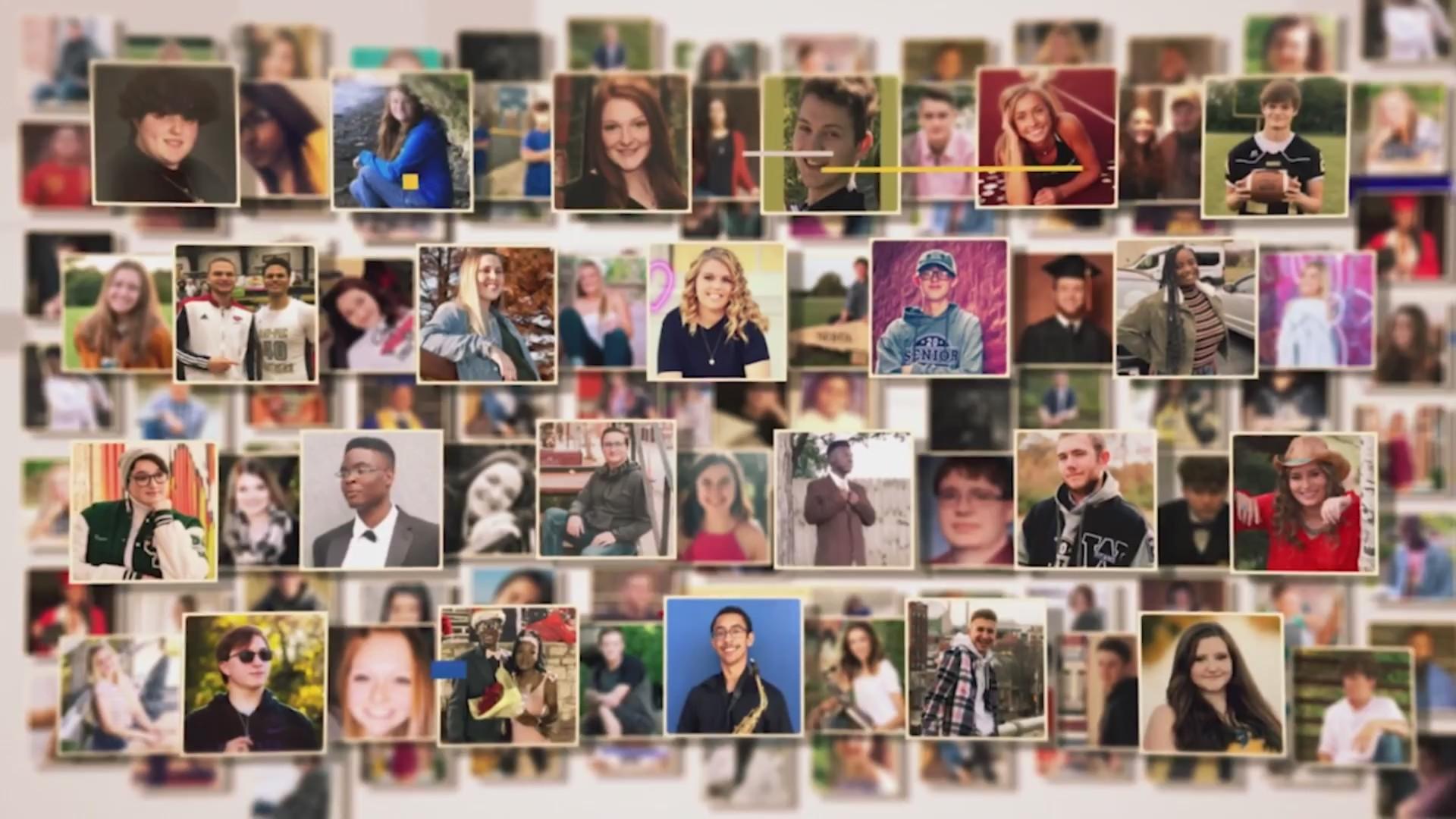 Collage of senior pictures