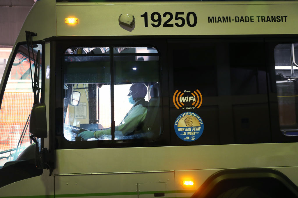 Picture of Miami-Dade bus driver