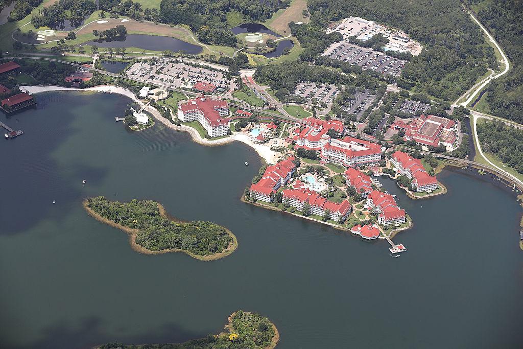 Lake At Disney Resort
