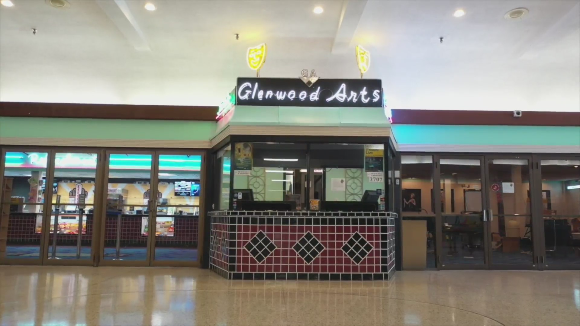 Picture of Glenwood Arts movie theater