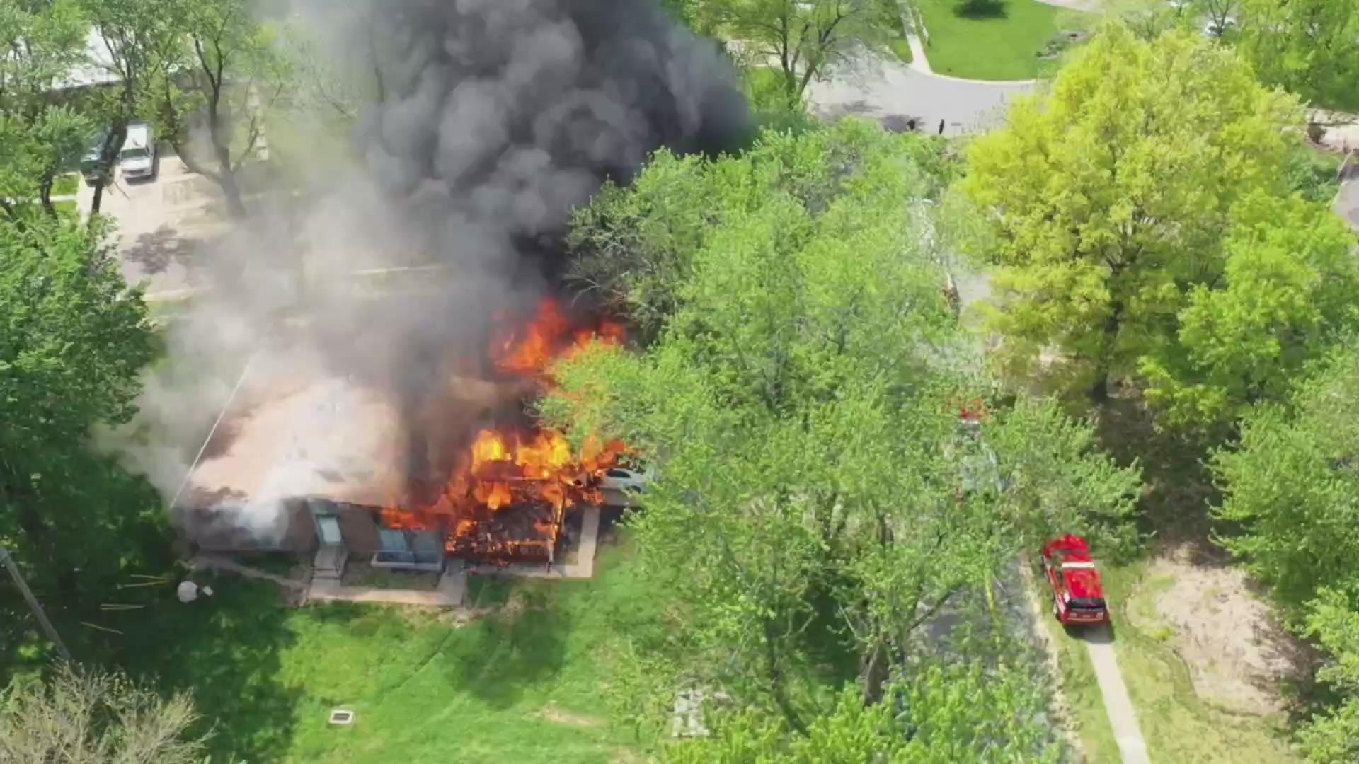Picture of duplex fire