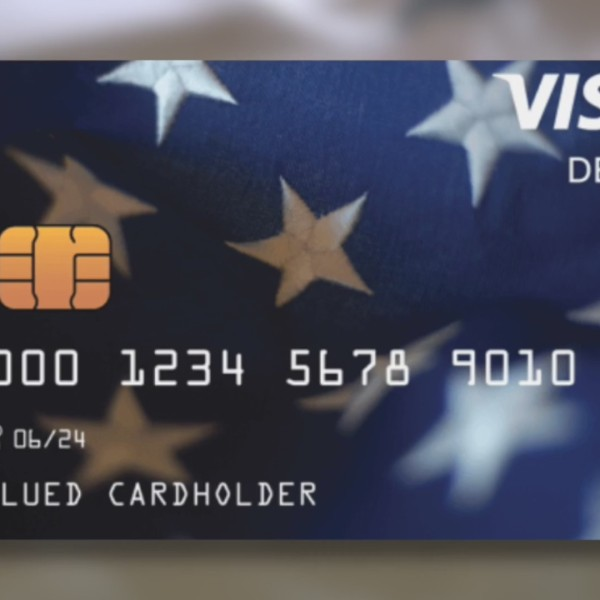 Pre-paid debit card for stimulus payment