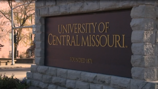 University of Central Missouri sign picture