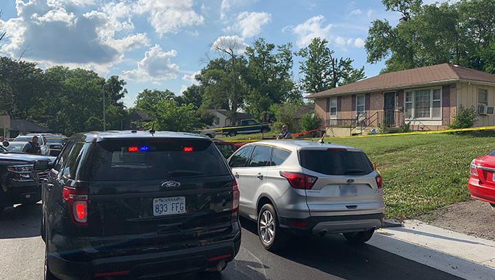 Picture of shooting scene near N 48th and Richmond