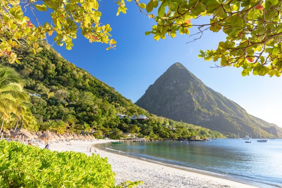 Picture of beach in St Lucia
