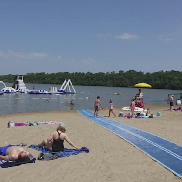 Picture of Lake Olathe Beach
