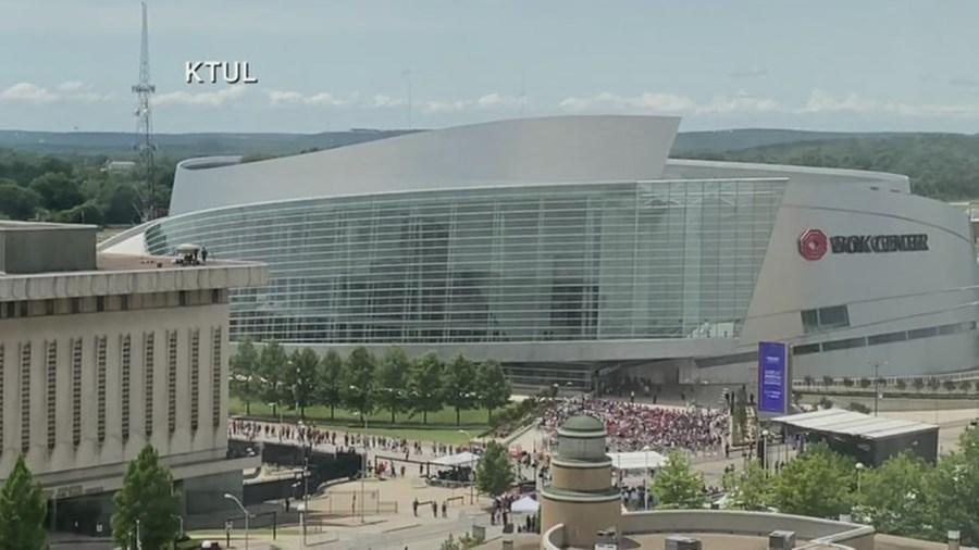 Picture of BOK Center in Tulsa