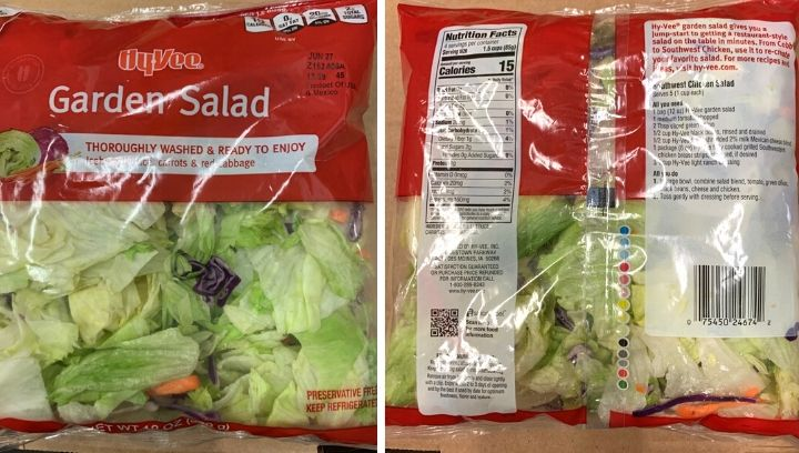 Picture of Hy-Vee garden salad
