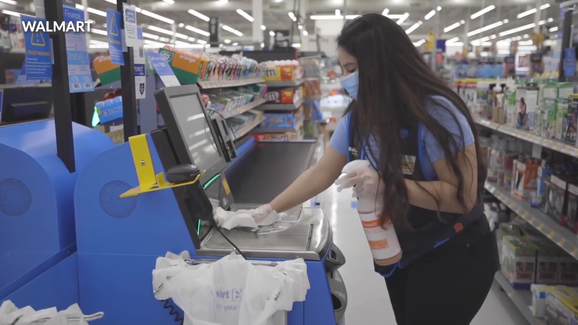 Walmart Replaces Cashiers With Self Checkout Counters In Test At Arkansas Store Fox 4 Kansas City Wdaf Tv News Weather Sports