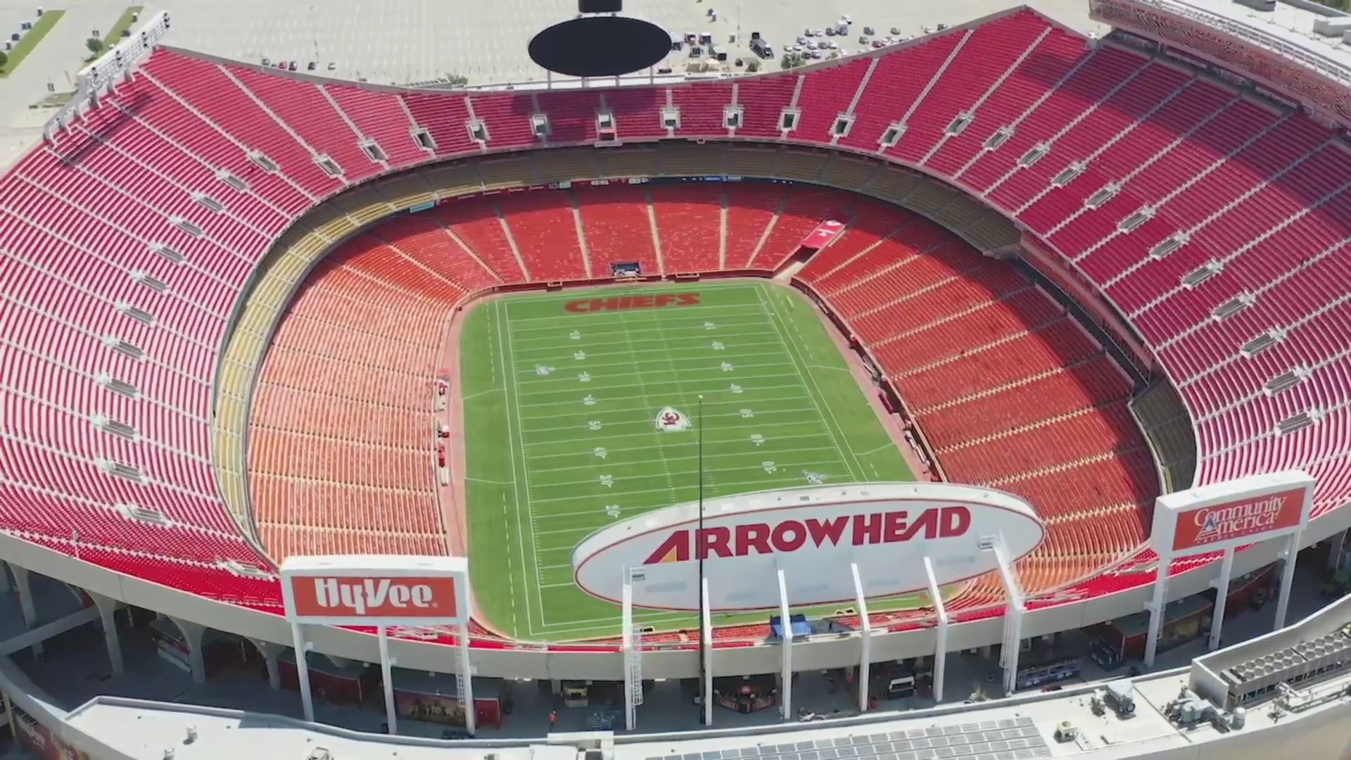 Aerial picture of Arrowhead