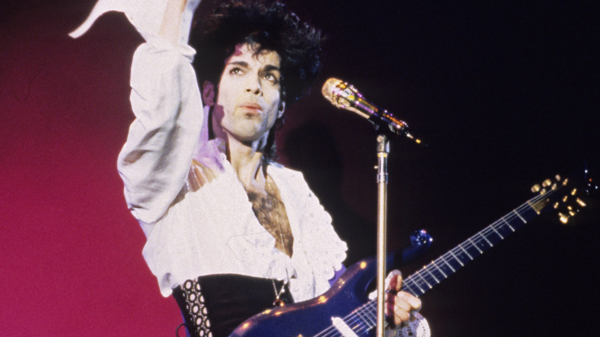 Picture of Prince in concert