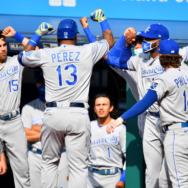 Picture of Royals players celebrating