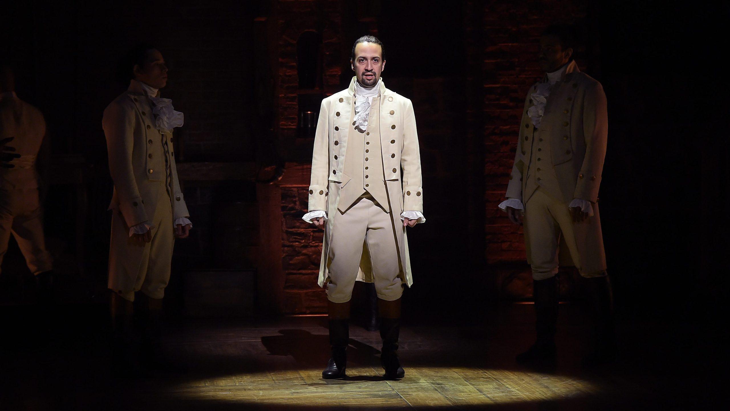 Picture of Lin-Manuel Miranda in Hamilton