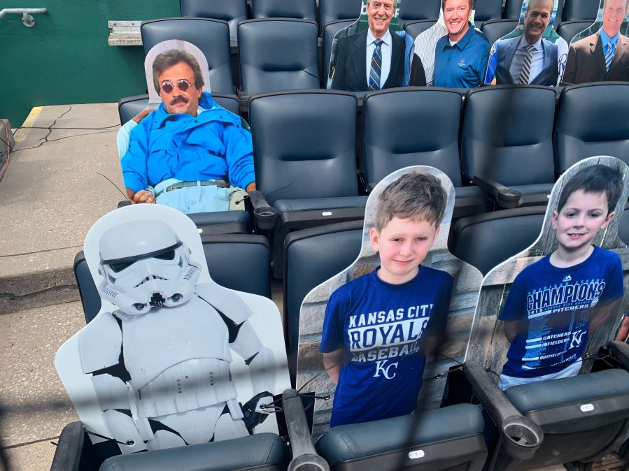 Picture of stormtrooper and weekend at Bernie's cutout