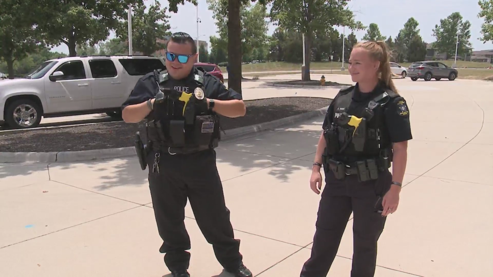 Picture of Overland Park police officers