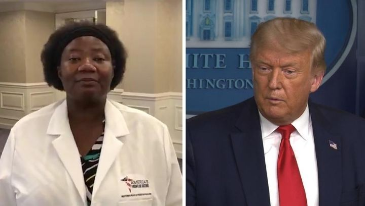 President Trump Praises Doctor Who Claimed Alien Dna Was Used In Medicine Fox 4 Kansas City Wdaf Tv News Weather Sports