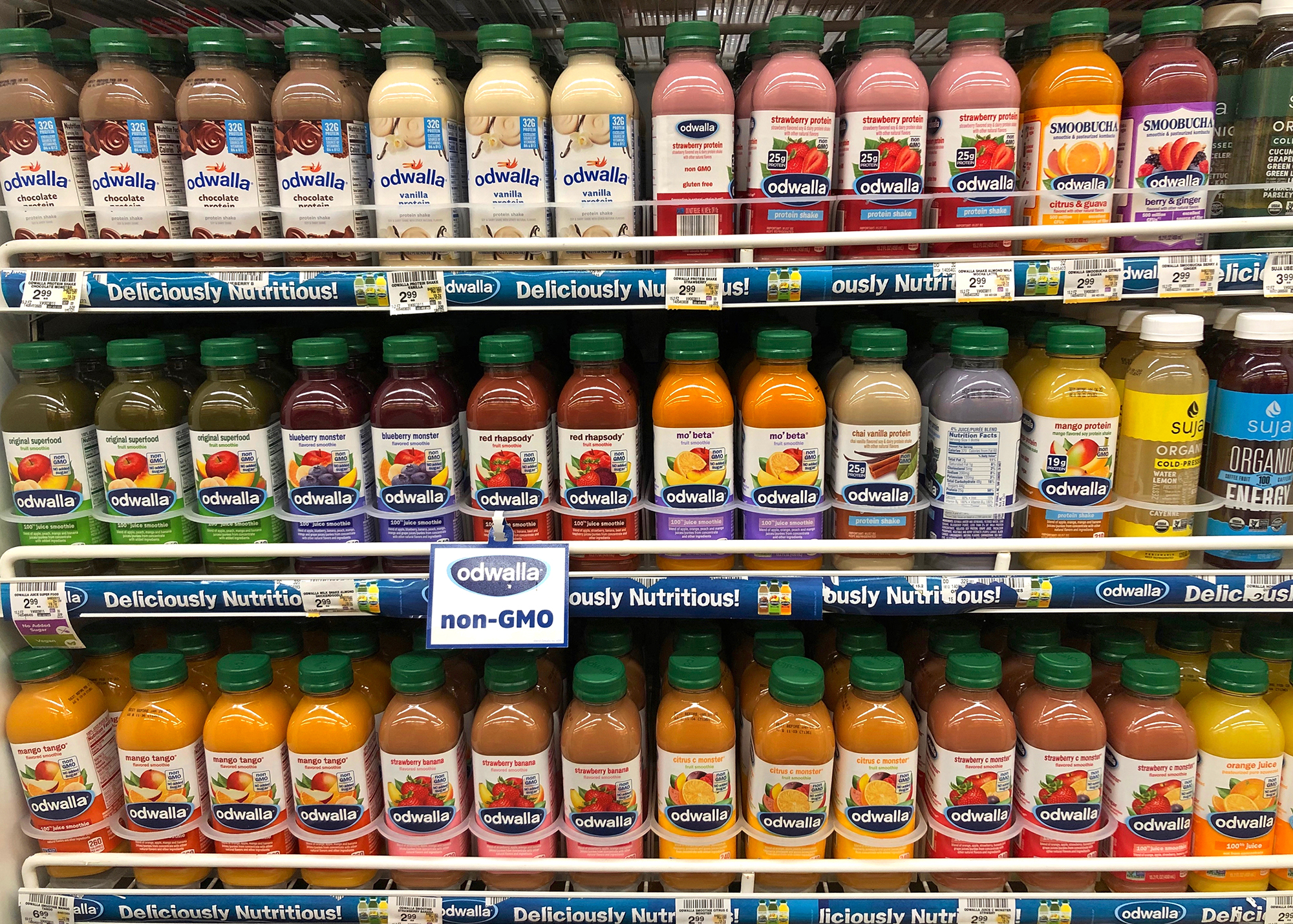 Picture of juice in store