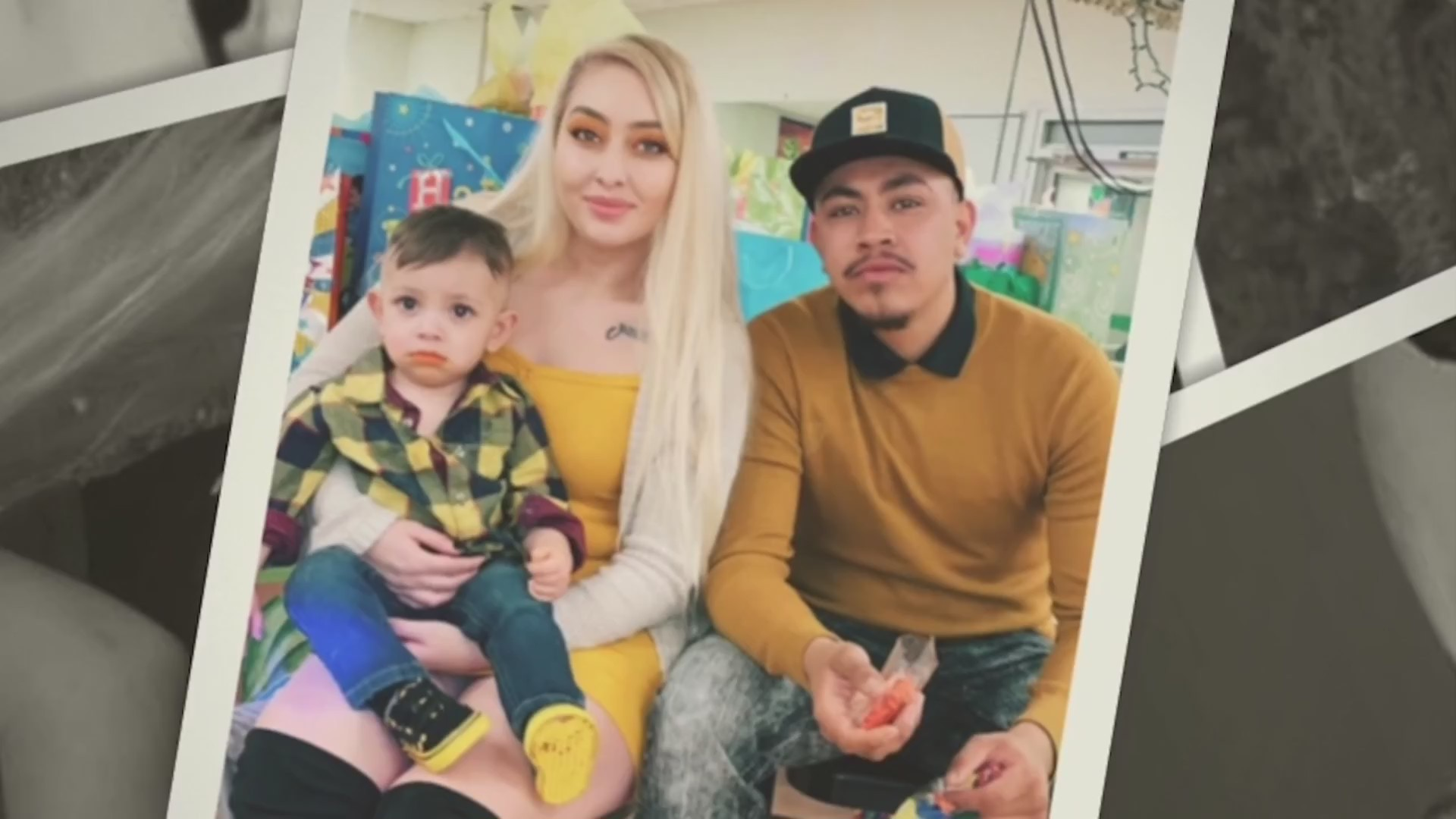 Picture of Daisy Morales and her family