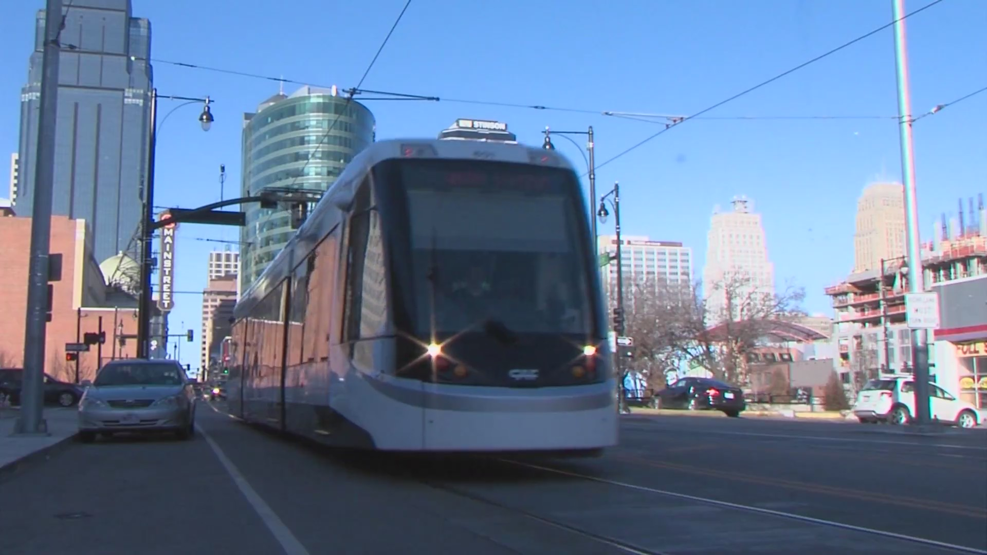 Picture of KC Streetcar downtown