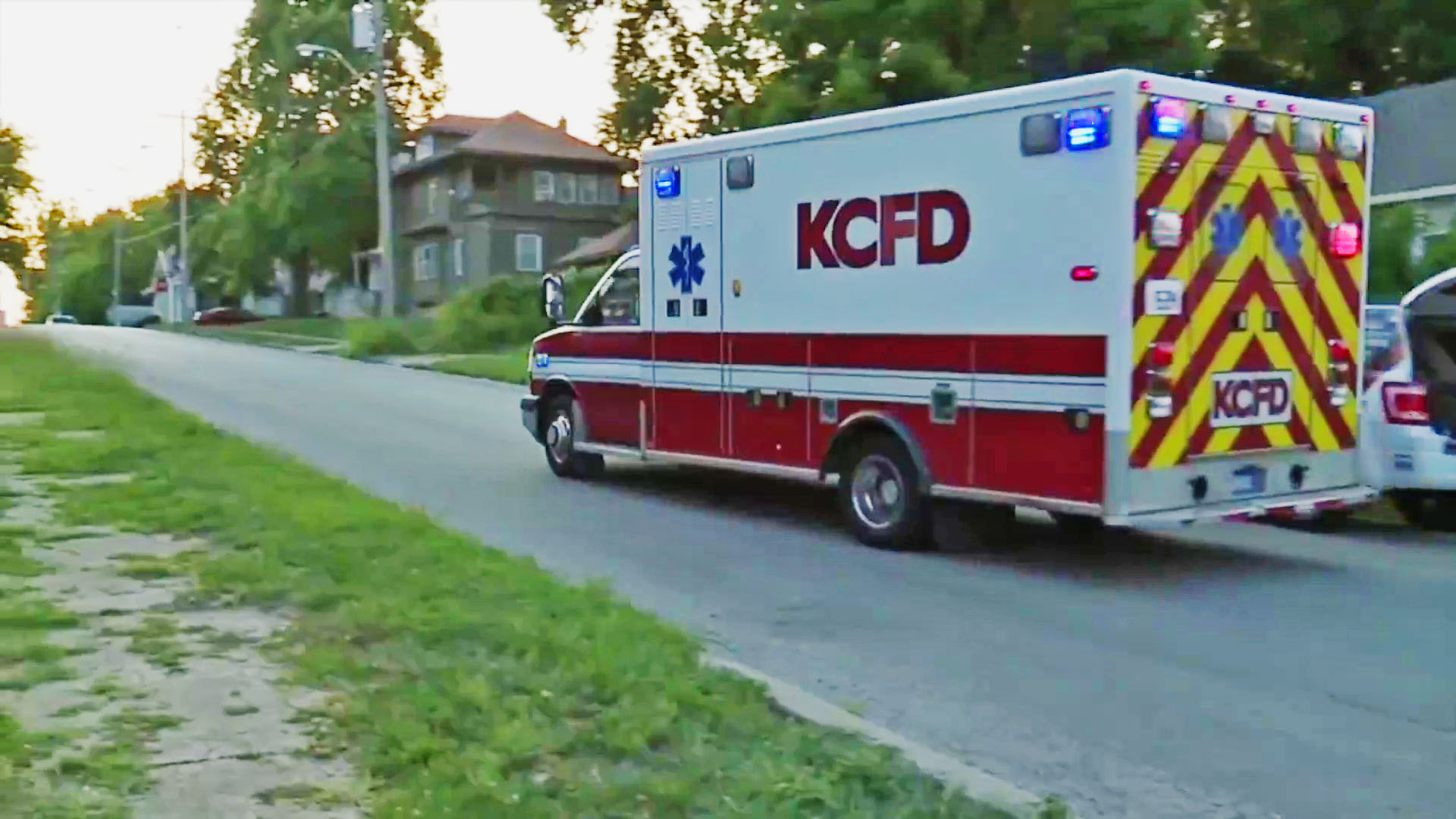 Picture of KCFD ambulance