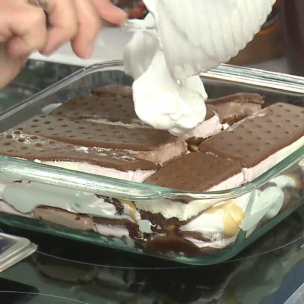 Picture of ice cream sandwich cake