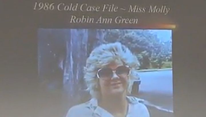 "Picture of Robin Green, aka: ""Miss Molly"""