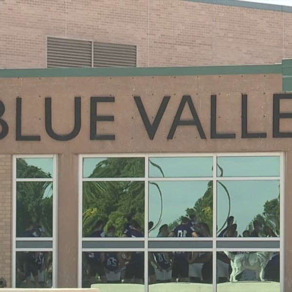 Picture of Blue Valley sign