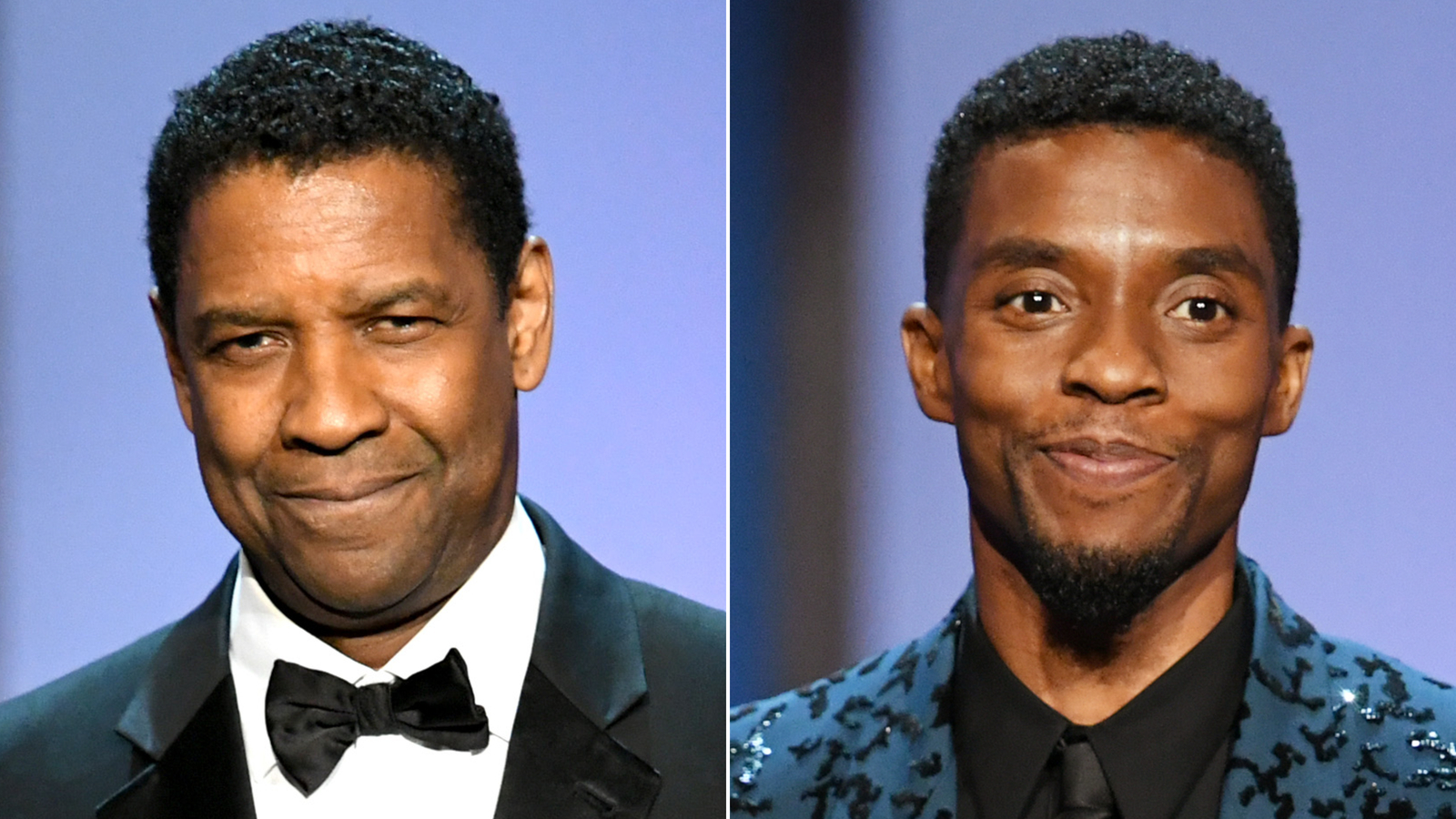 Denzel Washington Chadwick Boseman SPLIT