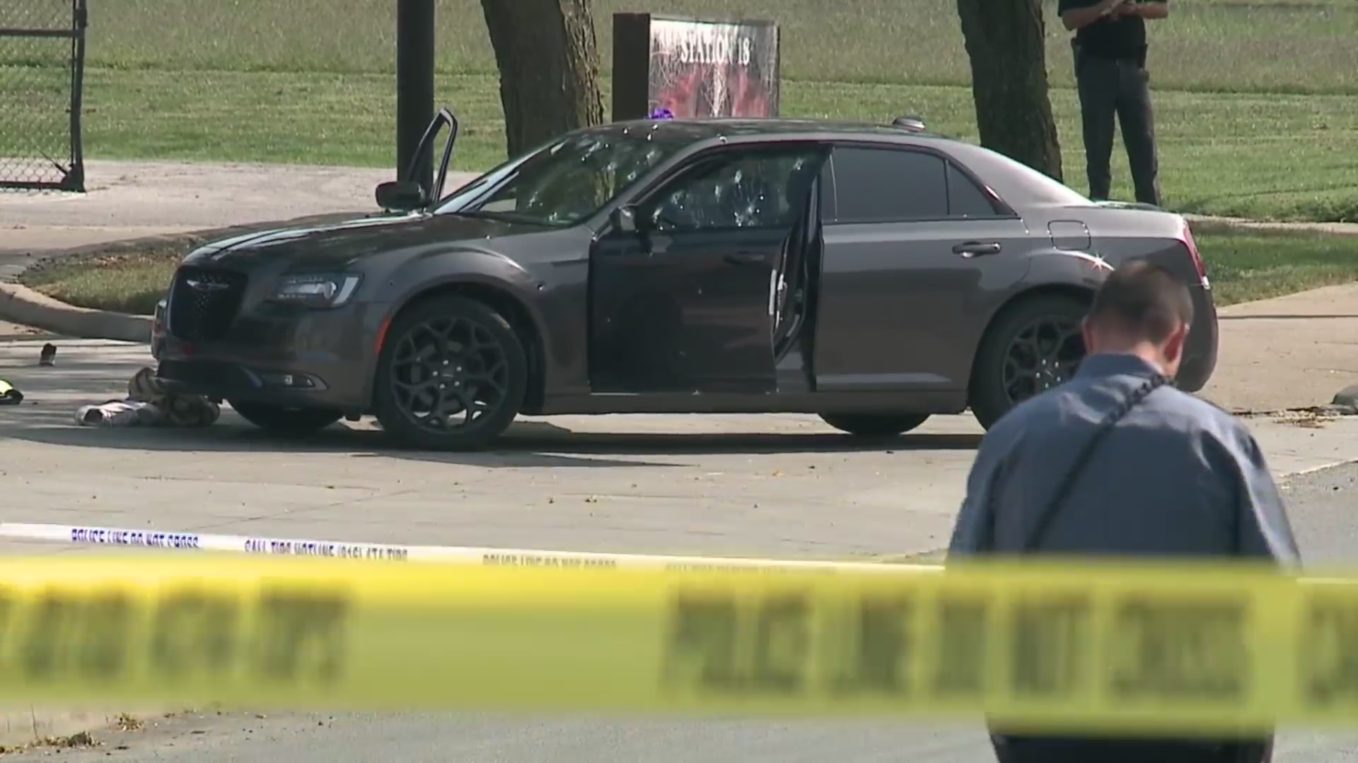 Picture of car involved in triple shooting