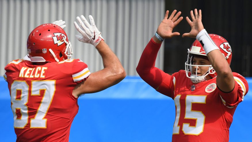 AFC Oeste - Kelce & Mahomes