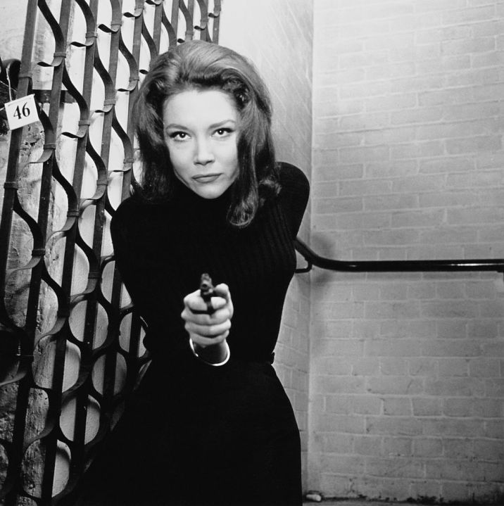Picture of young Diana Rigg