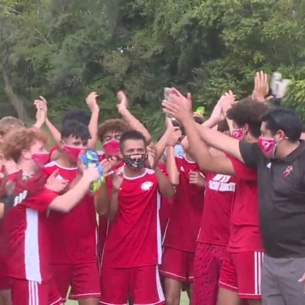 Picture of Van Horn soccer team