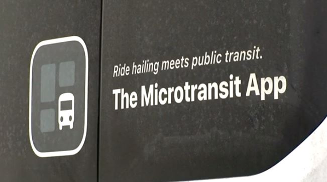 Picture of Microtransit sign
