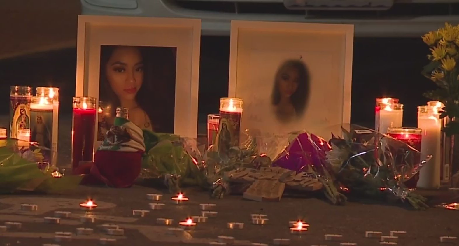 Picture of vigil pictures of Daisy Martinez