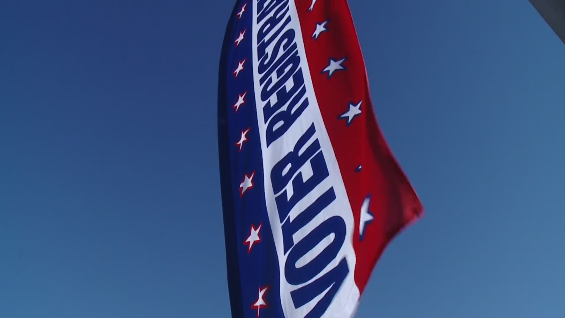 Picture of voter registration flag