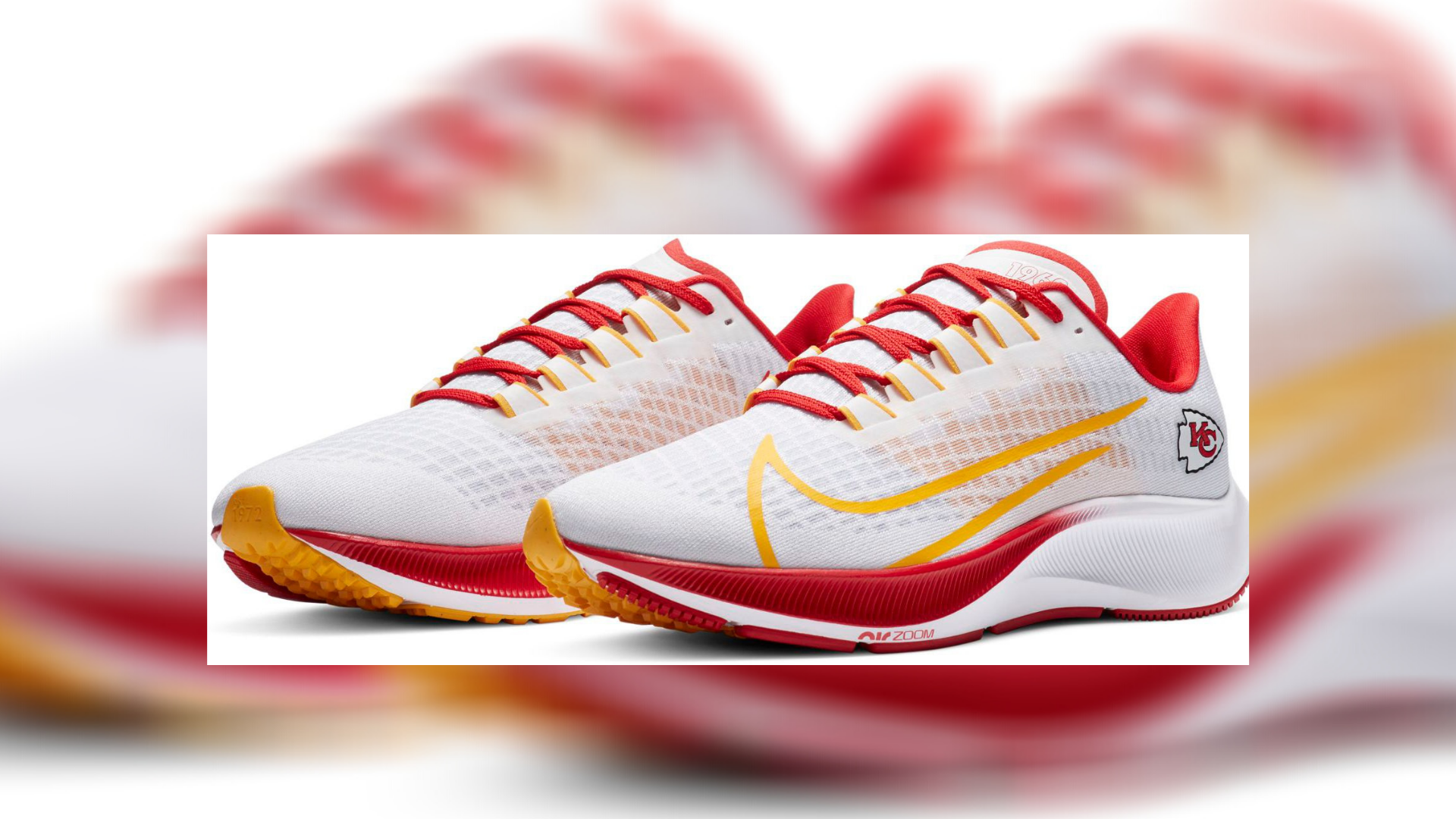 limited edition Chiefs shoes