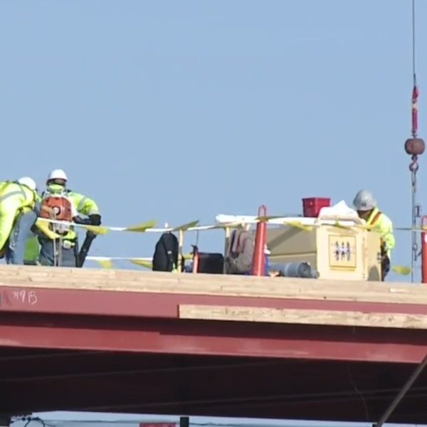 Picture of construction workers at KCI