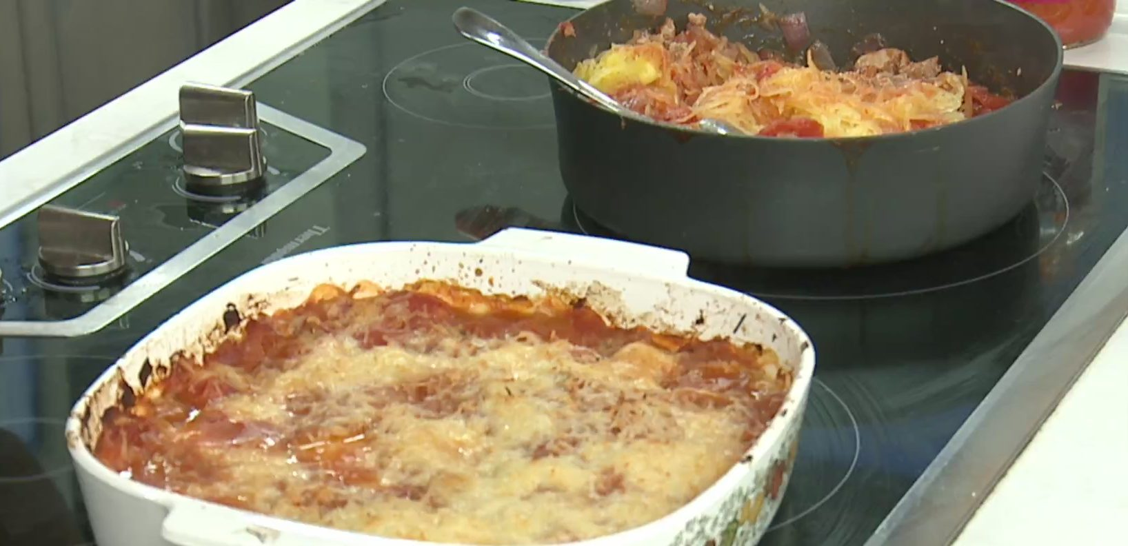 Picture of spaghetti squash casserole