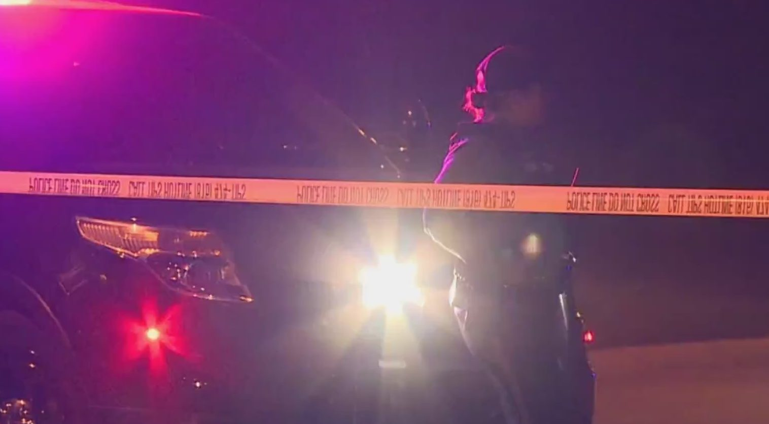 Picture of KCPD night homicide