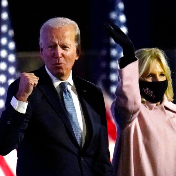 Joe Biden fist-pounding