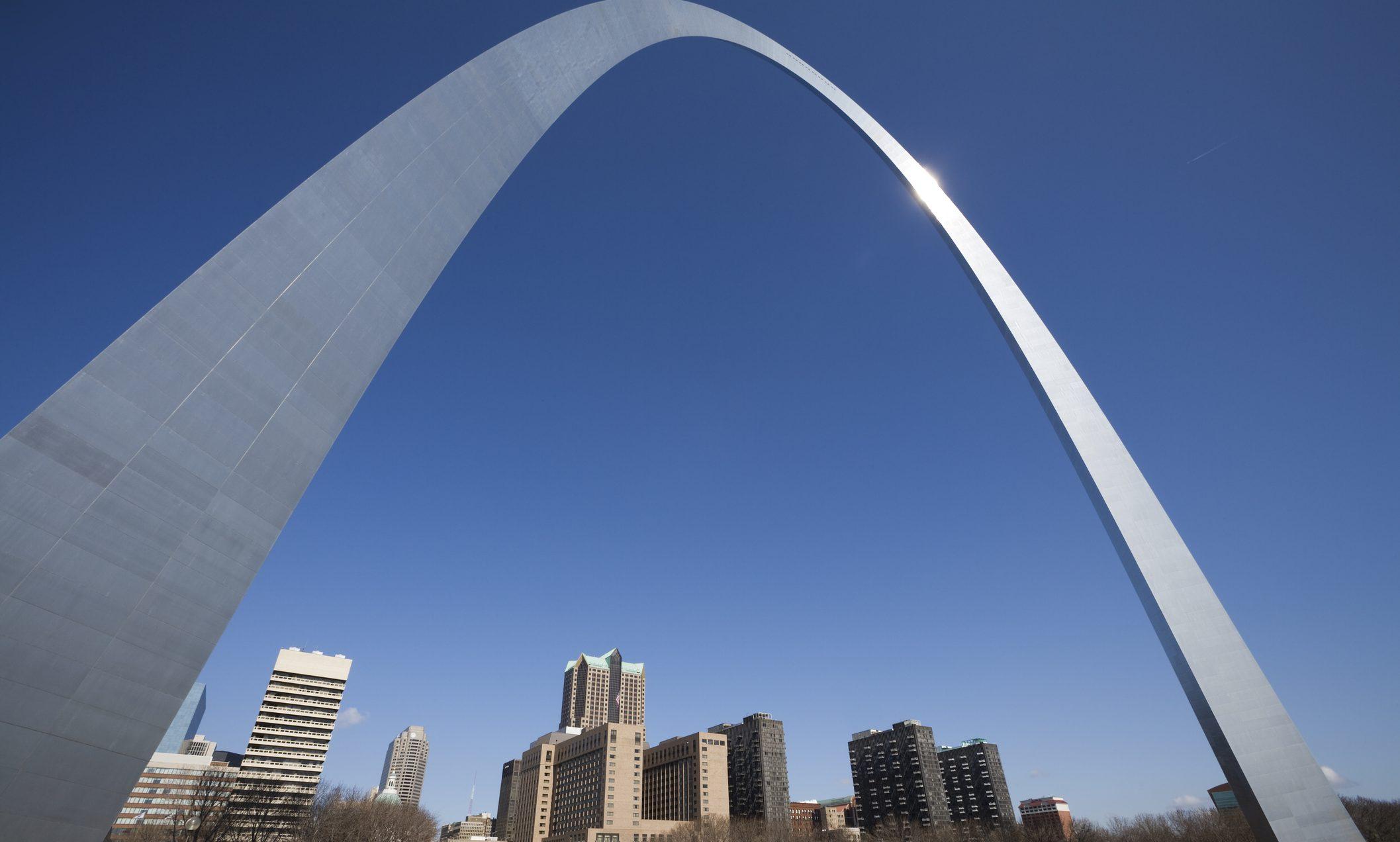Gateway Arch St. Louis skyline