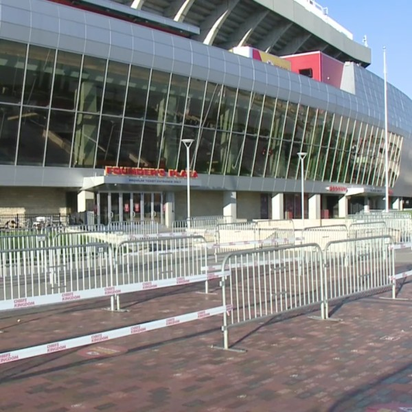 Picture of Arrowhead voting entrance