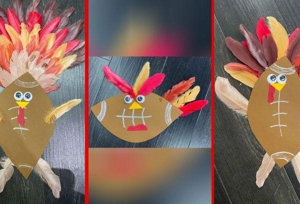 Picture of turkey crafts