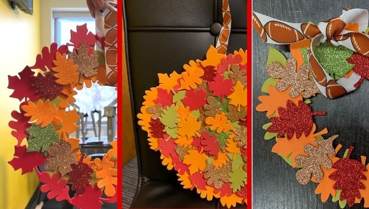 Picture of three wreath crafts
