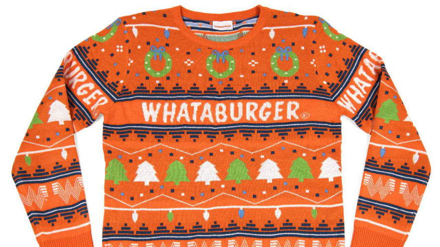 Christmas Brunch In Kansas City 2020 Whata sweater! Whataburger releases 2020 Christmas pullover | FOX
