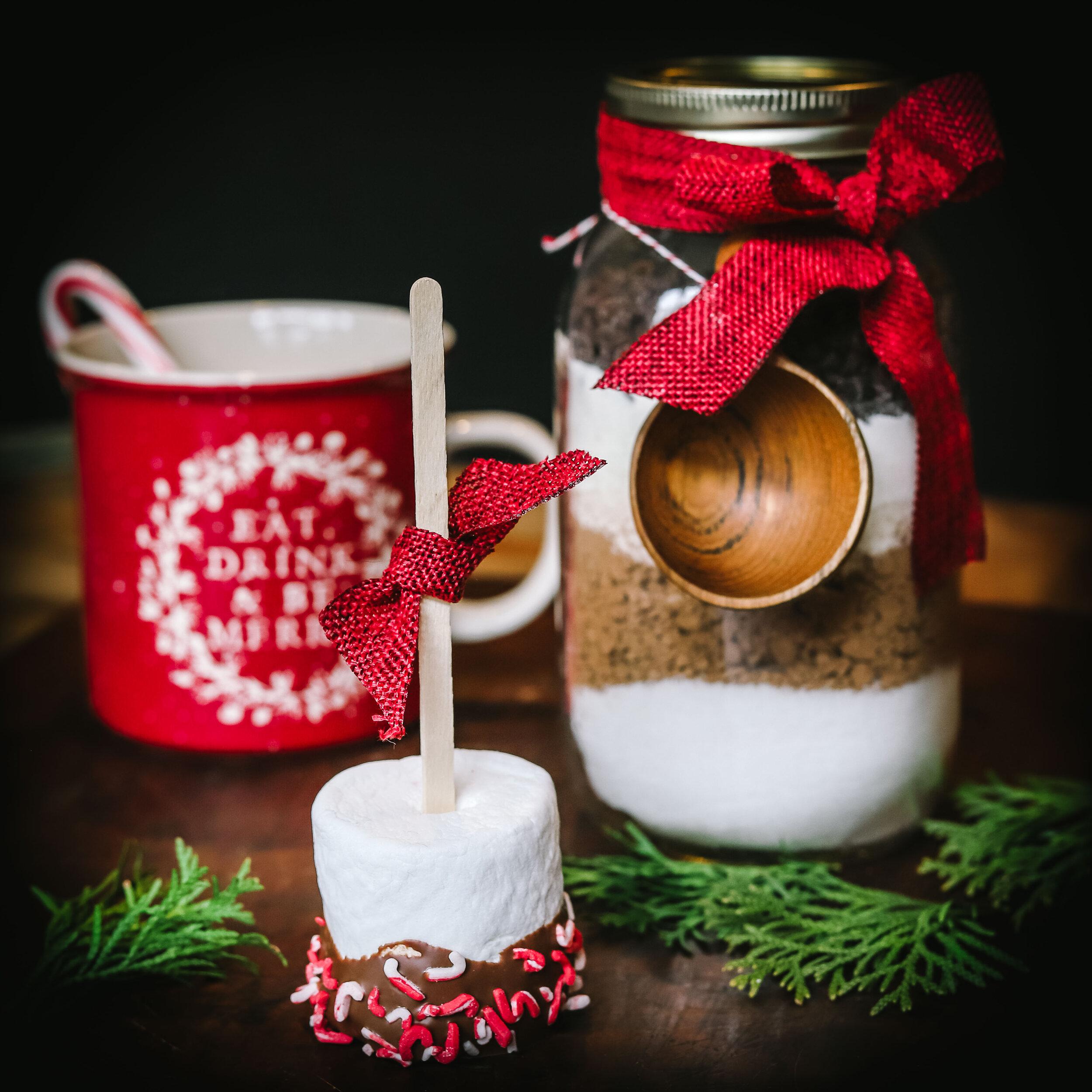 Recipe And Steps For Crafting Mason Jar Hot Chocolate Fox 4 Kansas City Wdaf Tv News Weather Sports
